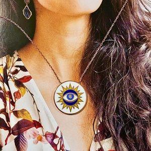 NEW- Turkish Evil Eye Necklace